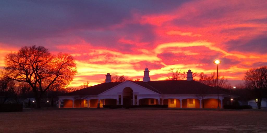 Linger Hall - Sunset